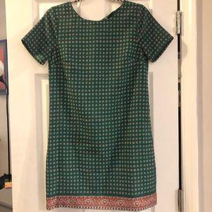 JCrew Silk Shift Dress